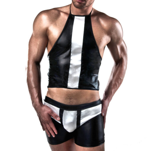 mens sexy shorts and top